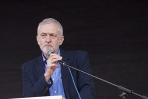 Jeremy Corbyn, leader of the Labour Party